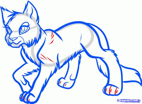 draw yellowfang yellowfang  warrior cats step
