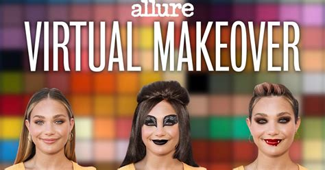 Allure: Virtual Makeover Video Series
