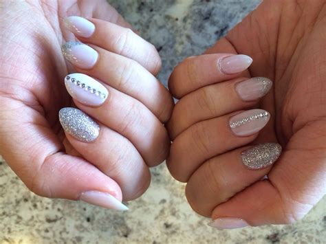Almond Shaped Nails!
