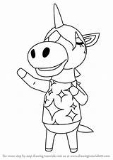 Crossing Animal Julian Draw Drawing Step Villager sketch template