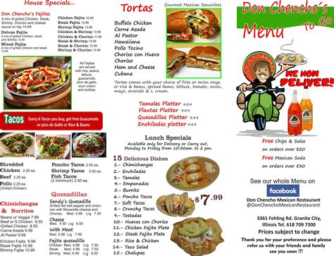 Don Chencho Mexican Restaurant - Posts - Granite City ...