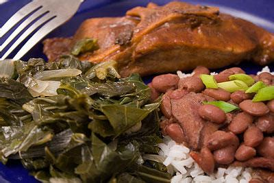 Greens, Beans, Countrystyle Pork Ribs « What We're Eating