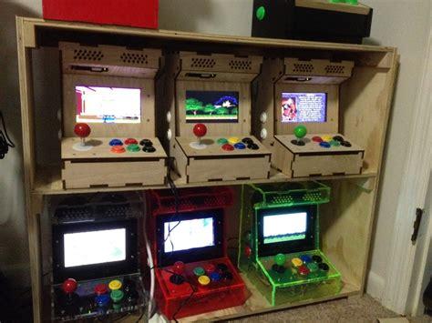 custom arcade cabinet kits diy arcade cabinet kits more porta pi arcade kit
