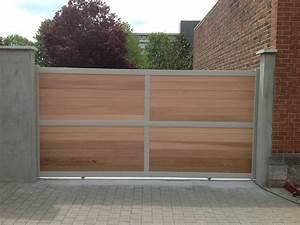 Portail Alu Coulissant 3m : portail bois ~ Edinachiropracticcenter.com Idées de Décoration