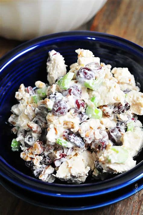 chicken salad  grapes recipe cooking add  pinch