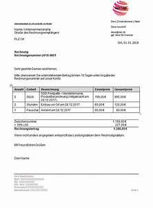Laptop Auf Rechnung Für Neukunden : selber rechnungen erstellen leicht gemacht vorlagen ~ Themetempest.com Abrechnung
