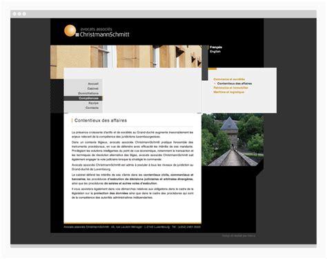 site christmannschmitt h2a agence de communication webagency luxembourg