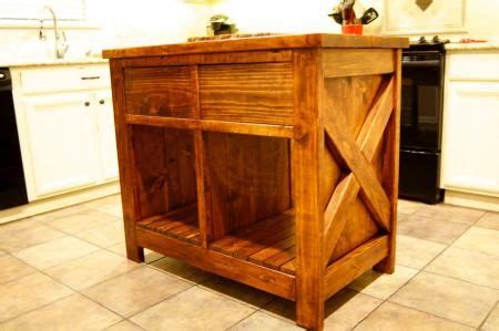 do it yourself kitchen island modified rustic x kitchen island do it yourself home