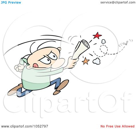 foto de Royalty Free Vector Clip Art Illustration of a Toon Guy