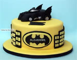 Batman Birthday Cake Ideas