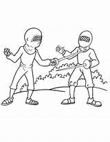 Coloring Fencing Olympic Boxing Clipart Popular Printable Library Clip sketch template