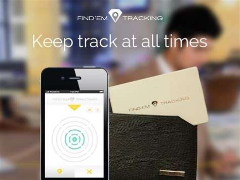 the find em tracking card the world s smallest loss prevention device stacksocial