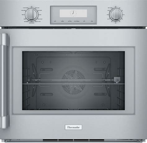 podrw thermador professional  wall oven  clean convection  hinge