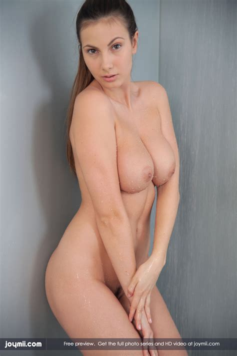 busty centerfold connie carter shows off her body in the