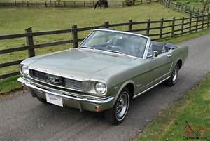 66 FORD MUSTANG CONVERTIBLE GENUINE 72,000 MILES CALIFORNIAN CAR