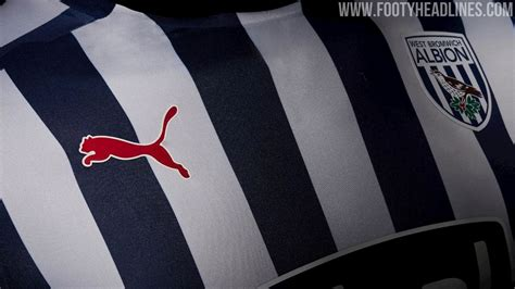 west bromwich albion home kit released footy headlines