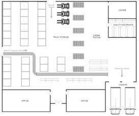 create a blueprint free warehouse layout design software free
