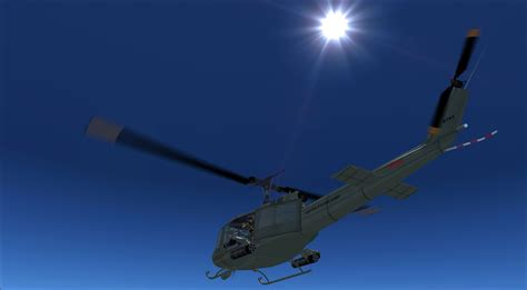 Bell Uh 1 Huey For Fsx