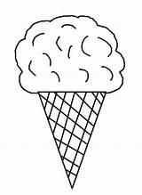 Ice Coloring Cream Cone Pages Printable Cool2bkids Sheets Sweets Cones Template раскраски рисунки для Printing раскрашивания Felt Crafts мандала печати sketch template