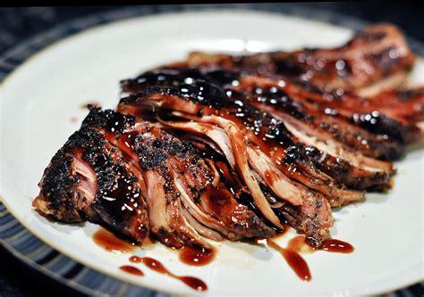 pork loin real good recipes brown sugar and balsamic glazed pork loin