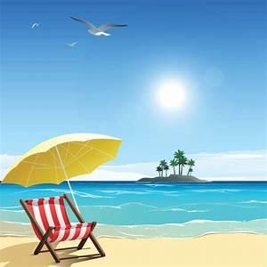 Beach Vacation Illustrations, Royalty-Free Vector Graphics ...