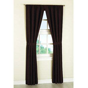 mainstays microfiber curtain panels set of 2 with