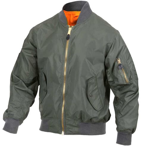light bomber jacket mens rothco mens lightweight ma 1 nylon bomber jacket