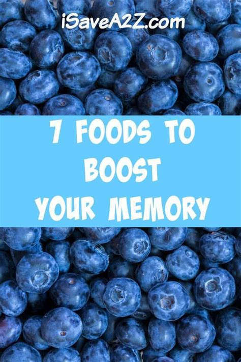 foods  boost  memory isaveazcom