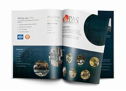 Brochure Company Manufacturing Booklet