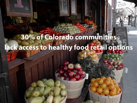 healthy food access text overlay livewell colorado