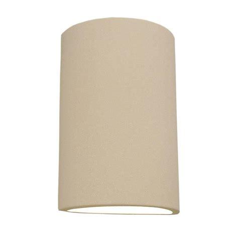 Ceramic Wall Sconces - filament design daniel 2 light paintable bisque ceramic