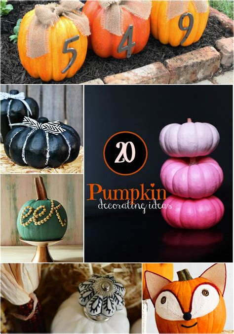 pumpkin decorating ideas top  list crafts unleashed