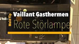 Vaillant Gastherme Störung : vaillant gastherme vcw 204 rote st rlampe leuchtet youtube ~ Watch28wear.com Haus und Dekorationen