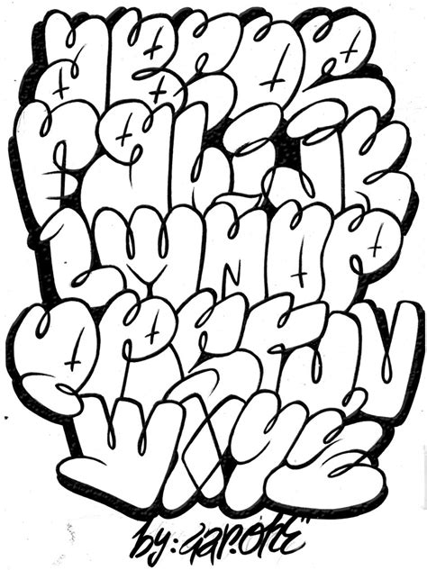 throw up lettering and new one gar
