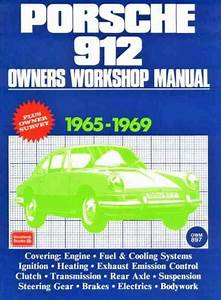 Porsche 912 1965 1969 Service Repair Manual Brooklands Books Ltd Uk