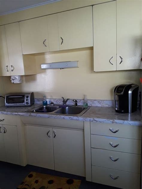 change   metal kitchen cabinets