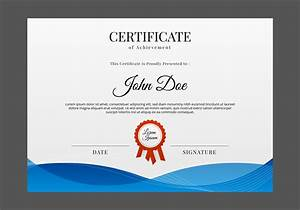 Free Certificate Template Free Certificate Template Vector Download Free Vector Art Stock Graphics Images