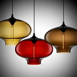 Colored glass pendant lights where my heart is