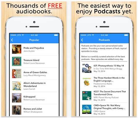 best iphone audiobook apps