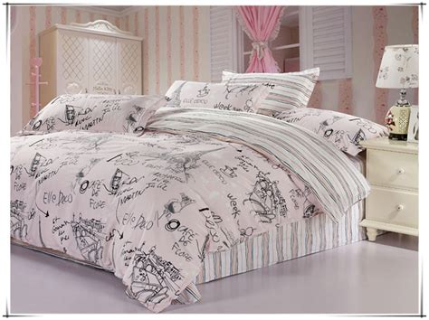 bedding set 100 cotton paris eiffel tower reactive