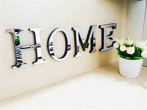 10cmx8cmx1 2cm thick wedding love letters home decoration With chrome letters home decor