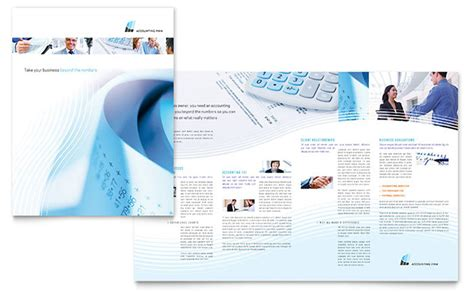 accounting firm brochure template word publisher