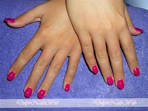 Ongles En Gel Rose : ongles en gel nailsart ~ Melissatoandfro.com Idées de Décoration