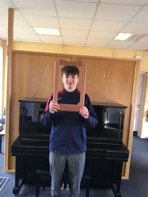 year woodwork projects  colaiste cois siuire