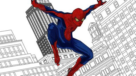 The Amazing Spiderman Drawing Youtube