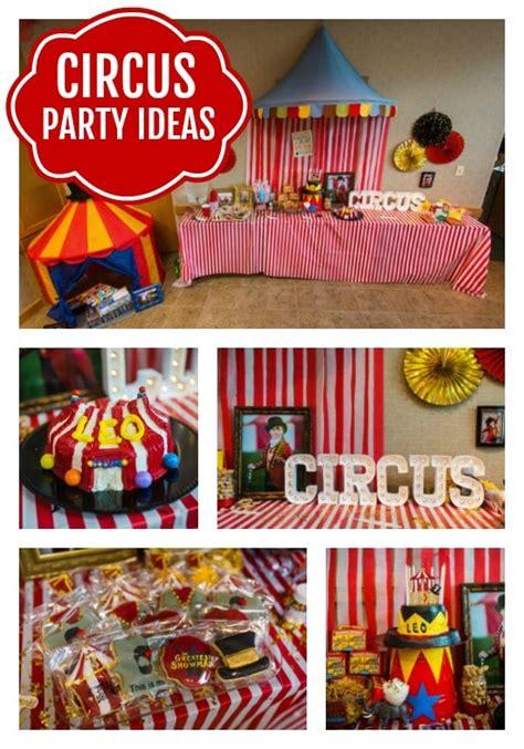 big top circus theme party circus party ideas pretty