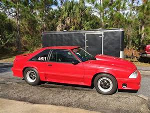 90 FORD MUSTANG GT DRAG RACE CAR AND TRAILER COMBO for sale in Palm Bay, Florida, United States ...