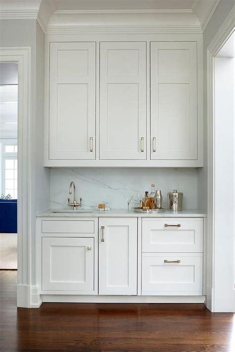 butler pantry nook  sink transitional kitchen