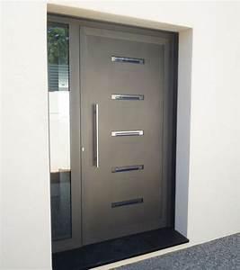 Porte D Entrée D Appartement : porte d 39 entr e aluminium gamme sch co ads60 sanary ~ Melissatoandfro.com Idées de Décoration