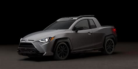 toyota yaris adventure tiny pickup truck